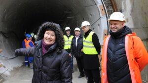 Tym tunelem popłyną ścieki do Czajki