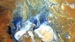 Jezioro Eyre (Australia) 05.08.2006 (NASA's Goddard Space Flight Center/USGS)