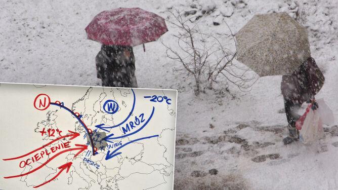 """Czeka nas załamanie pogody. """"Dwie pory roku w jednym kraju"""""""