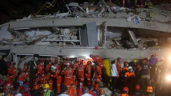 """""""Jestem przyzwyczajony do trzęsień ziemi, ale to było naprawdę przerażające"""". Wzrósł bilans ofiar"""