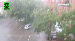 Intensywne opady w Lęborku