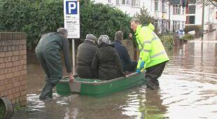 Dennis spowodował ogromne zalania
