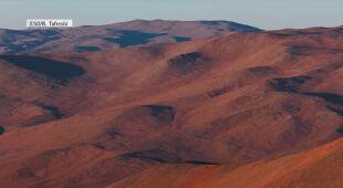 Widoki z pustyni Atakama (Chile)